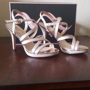 BRAND NEW Nina Strappy Pink Heels